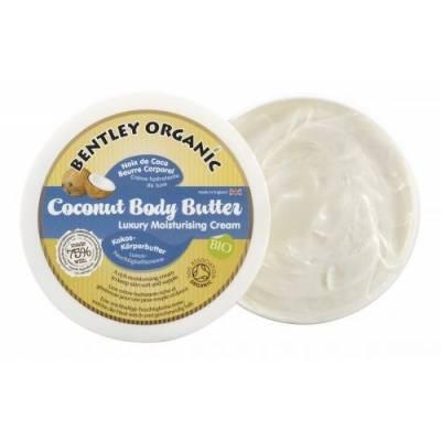 ORGANICZNE masło kokosowe do ciała, Bentley Organic, 200g