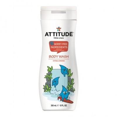 Attitude, Żel pod prysznic dla dzieci Musujca Zabawa (Sparkling Fun) 355 ml