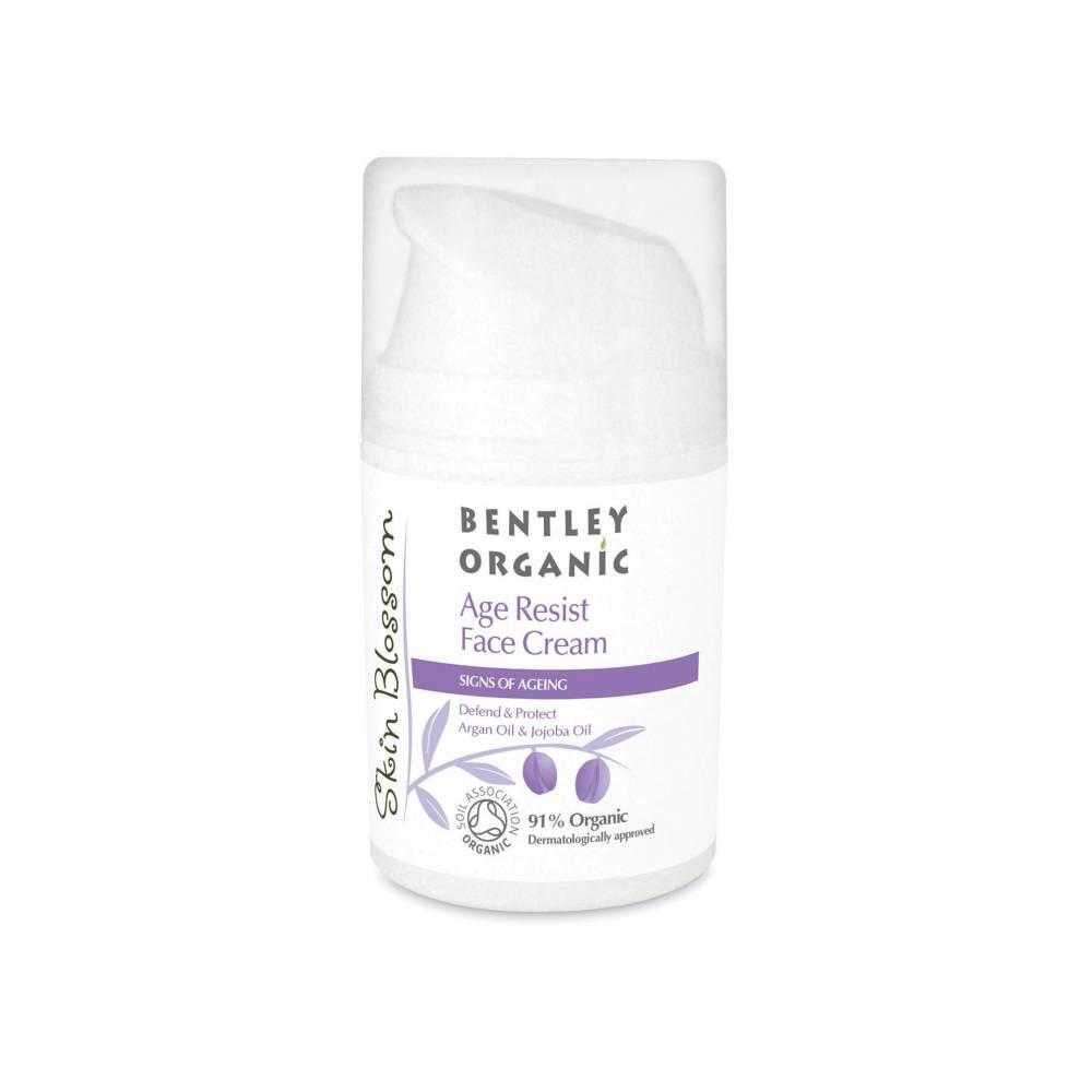 Bentley Organic, Skin Blossom, Age Resist Krem przeciwzmarszczkowy, 50 ml