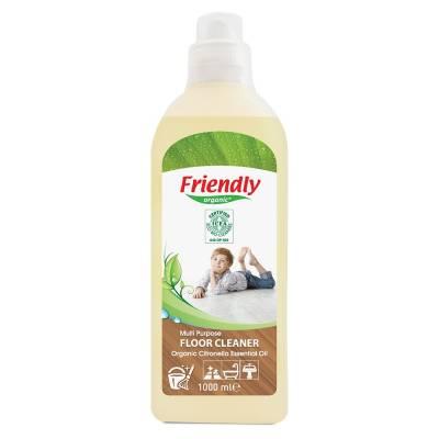 Friendly Organic, Multifunkcyjny płyn do mycia podłóg, 1000 ml