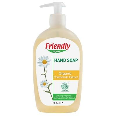 Friendly Organic, Mydło do rąk, rumiankowe, 500 ml