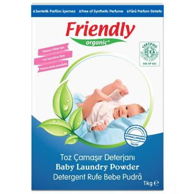 Friendly Organic, Proszek do prania ubranek dziecięcych, 1kg