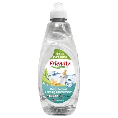 Friendly Organic, Płyn do mycia butelek dziecięcych, 414ml