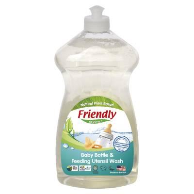 Friendly Organic, Płyn do mycia butelek dziecięcych, 739ml