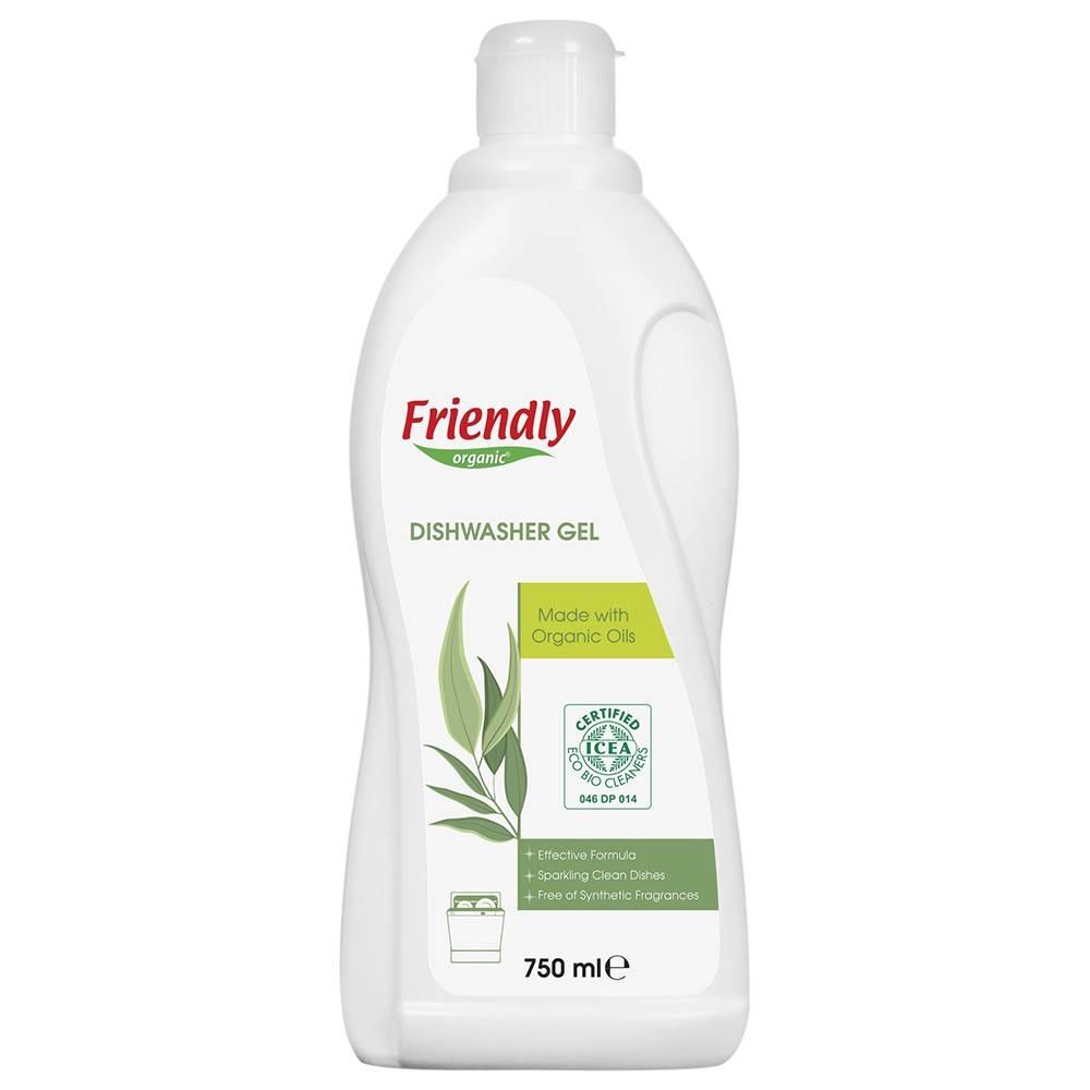 Friendly Organic, Płyn do mycia naczyń, eukaliptusowy, 750 ml