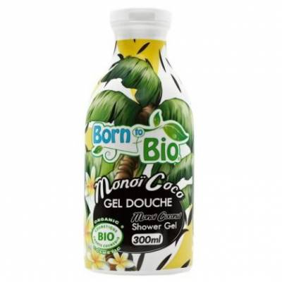 Born to Bio, Żel pod prysznic Manoi i Kokos, 300ml