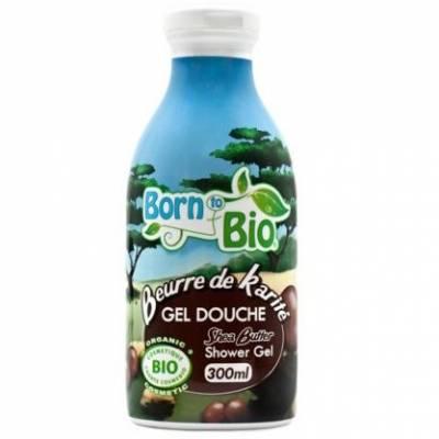 Born to Bio, Żel pod prysznic Masło Shea, 300 ml
