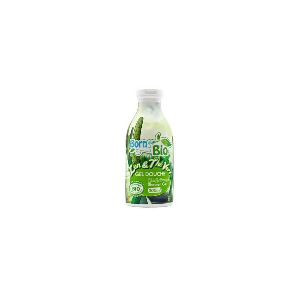 Born to Bio, Żel pod prysznic Zen & Zielona herbata, 300 ml