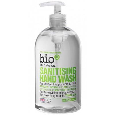 Antybakteryjne mydło w płynie, Limonka/Aloes, 500 ml Bio-D