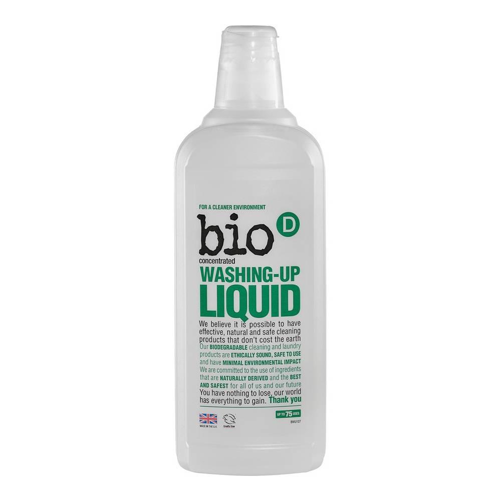 Bio-D, Ekologiczny Płyn do mycia naczyń, skoncentrowany, 750ml