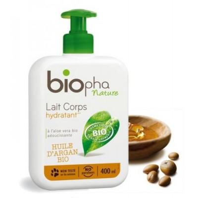 Mleczko do ciała regenerujące z Masłem Karite, butelka z pompką, 400 ml BIOpha