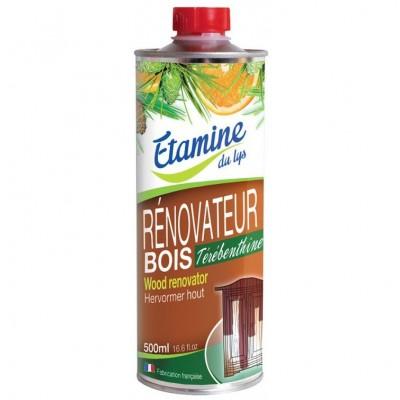Koncentrat do czyszczenia i pielęgnacji drewna surowego i lakierowanego z olejem sosnowym i esencją pomarańczową- Etamine du Lys
