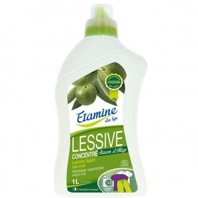 Płyn do prania dla osób o wrażliwej skórze z oryginalnym mydłem z Aleppo 1 l- Etamine du Lys