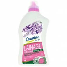 Etamine du Lys, płyn do prania delikatnych tkanin i wełny organiczna lawenda 1 l
