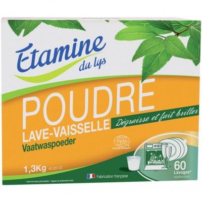 Proszek do zmywarki bezzapachowy, 1,3 kg- Etamine du Lys