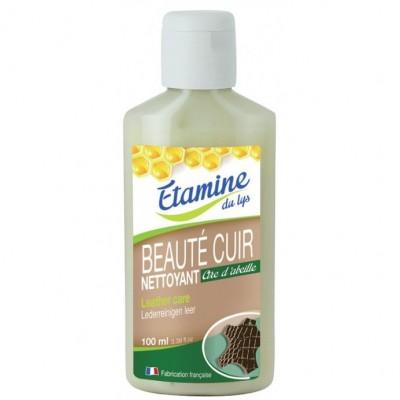 Mleczko do czyszczenia i pielęgnacji wyrobów ze skóry z woskiem pszczelim 100 ml- Etamine du Lys