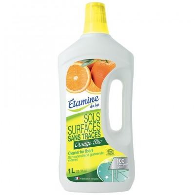 Etamine du Lys, Koncentrat do mycia podłóg i powierzchni użytkowych organiczna pomarańcza, 1L