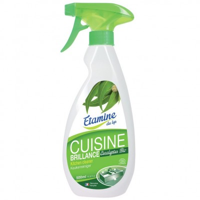 Spray do czyszczenia kuchni 3 w 1 organiczny eukaliptus, 500 ml- Etamine du Lys