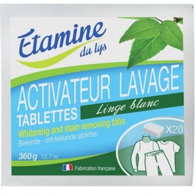 Tabletki do wybielania i usuwania plam z tkanin, 20 szt- Etamine du Lys