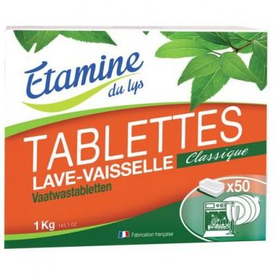 Tabletki do zmywarki bezzapachowe 50 szt, 1 kg- Etamine du Lys