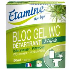 Wkłady wymienne do zawieszki do WC z żelem oczyszczającym sosna i eukaliptus, 2 x 50 ml- Etamine du Lys