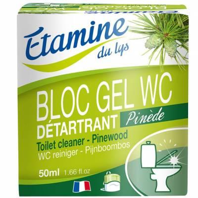 Etamine du Lys, Wkłady wymienne do zawieszki do WC z żelem oczyszczającym sosna i eukaliptus, 2 x 50 ml