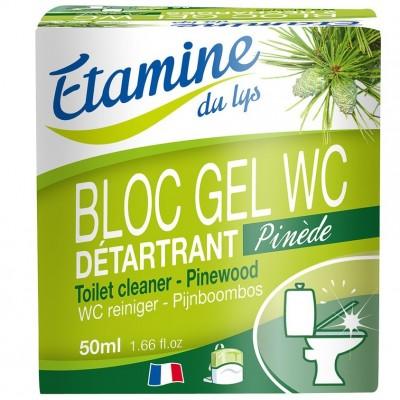 Zawieszka do WC z żelem oczyszczającym sosna i eukaliptus, 50 ml- Etamine du Lys