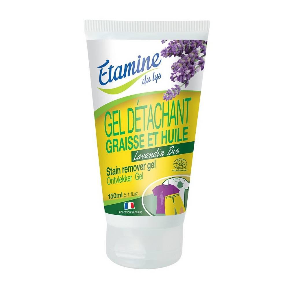 Etamine du Lys, Żel do usuwania trudnych i tłustych plam do tkanin białych i kolorowych, 150 ml