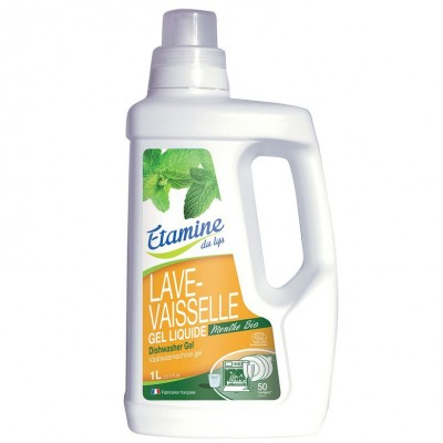 Żel do zmywarki organiczna mięta, 1 L- Etamine du Lys