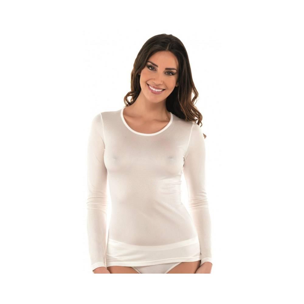 Koszulka z długim rękawem damska
