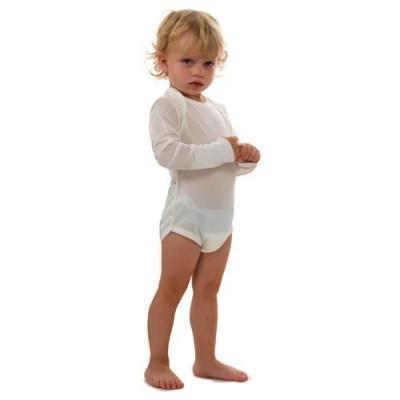 Body lecznicze na AZS dla dzieci, z wszytymi rękawiczkami, DermaSilk