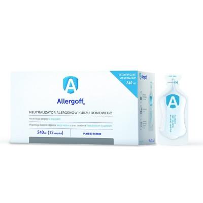 Płyn do tkanin, neutralizator alergenów kurzu domowego, 240 ml ALLERGOFF®