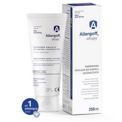 Allergoff Atopy Barierowa emulsja do kąpieli leczniczych 250 ml