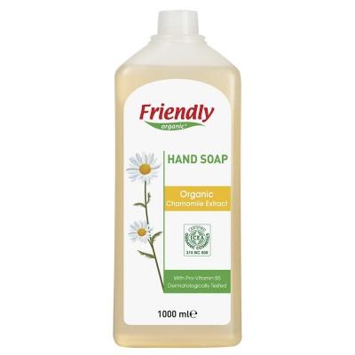 Friendly Organic, Mydło do rąk, rumiankowe, 1000 ml