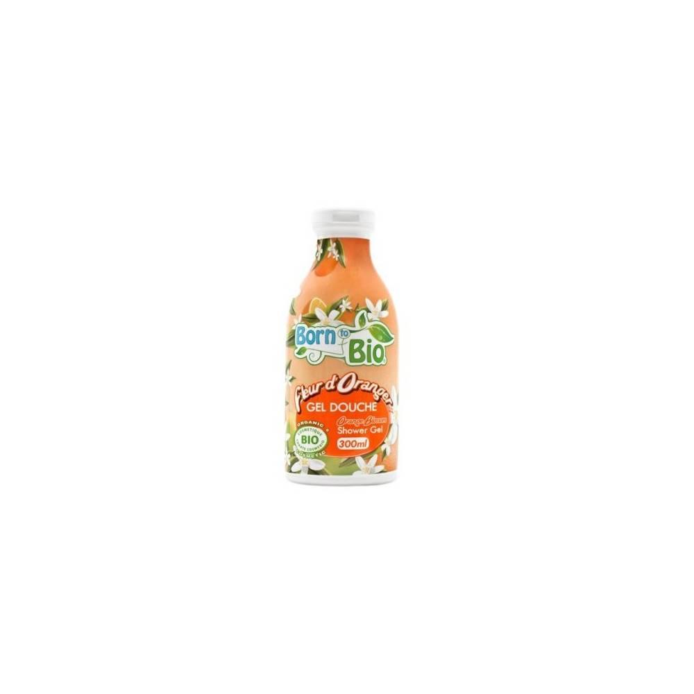 Born to Bio, Żel pod prysznic Kwiat Pomarańczy, 300 ml