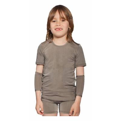 Szorty dla dzieci  PADYCARE pokryte srebrem