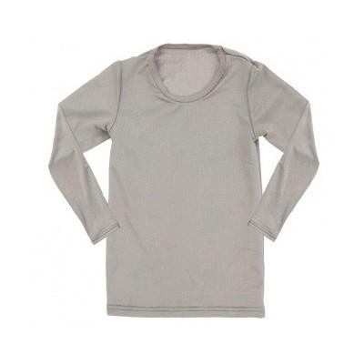 T-shirt dla dzieci z długim rękawem PADYCARE pokryty srebrem