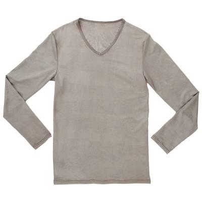 T-shirt dla mężczyzn z długim rękawem  PADYCARE pokryty w 100% srebrem