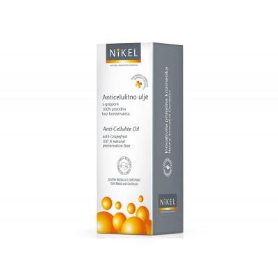 NIKEL, Olejek z pestek Grejpfruta Antycellulitowy, 100% naturalny, 100ml