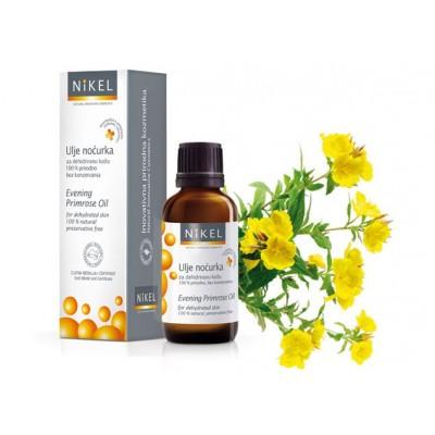 Olejek z nasion Wiesiołka do skóry przesuszonej, 30 ml, NIKEL