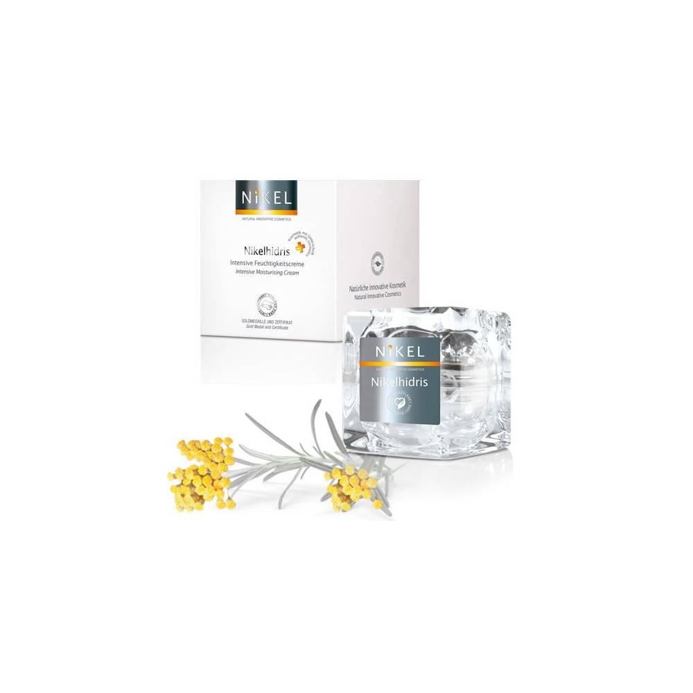 NIKEL, NIKELHIDRIS Nawilżający Krem z kwasem hialuronowym, miodem i kwiatem Immortelle INTENSIVE CARE, 50ml
