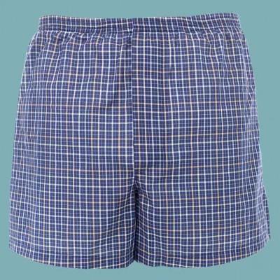 Bokserki dla mężczyzn z chłonnymi warstwami dla pacjentów z lekką inkontynencją stopnia 1 NIEBIESKIE DryMed