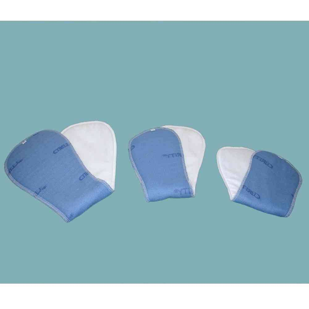 Wkładki męskie wielokrotnego użytku DryMed® , również na noc, biało-niebieskie DryMed