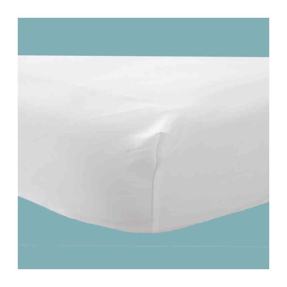 Nieprzemakalny pokrowiec na materac wielokrotnego użytku, BIAŁY DryMed