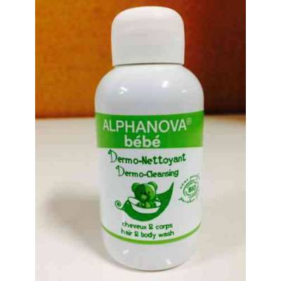 Alphanova Bebe Dermo - Żel do Mycia ciała i włosów, 30ml