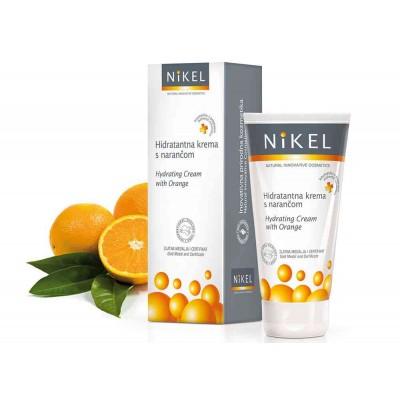 Nawilżający krem do twarzy z Pomarańczą, 50 ml, NIKEL