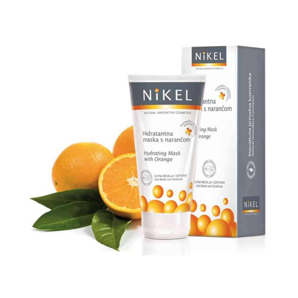 NIKEL, Nawilżająca maska do twarzy z Pomarańczą, 50ml