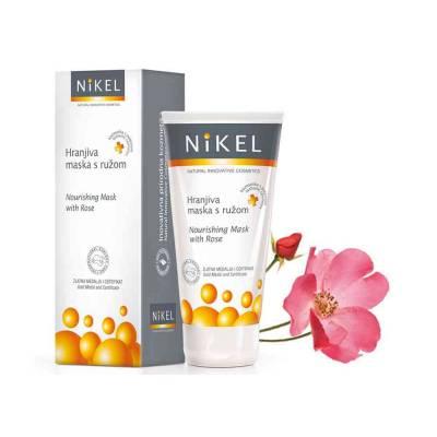 NIKEL, Odżywcza maska do twarzy z Różą, 50ml