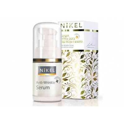 NIKEL, Przeciwzmarszczkowe serum pod oczy i dookoła ust z komórkami macierzystymi, 15ml