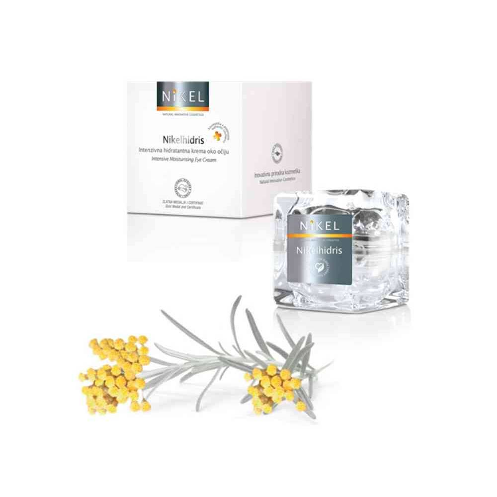NIKEL, NIKELHIDRIS nawilżający krem pod oczy z kwasem hialuronowym, miodem i kwiatem Immortelle INTENSIVE CARE, 15ml
